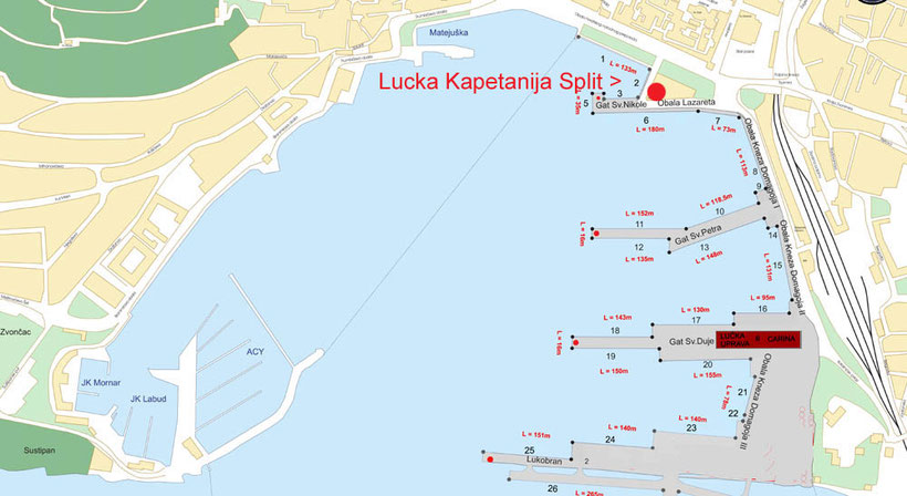 küstenpatente kroatische bootsführerscheine boat skipper A & B kurs makarska riviera baska voda brela tucepi prüfung hafenamt split