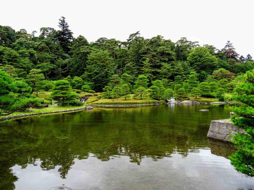 白河市 国指定史跡・名勝 南湖公園