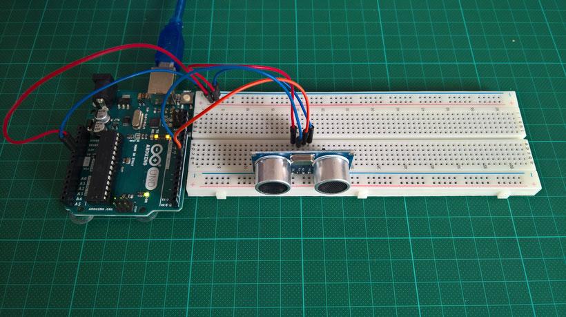 Arduino tutorial der ultraschallsensor werde zum maker mit