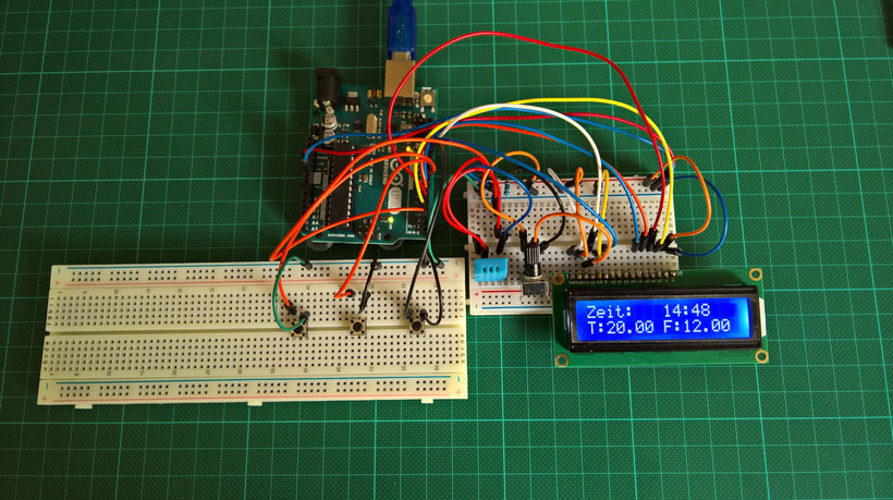 Arduino tutorial die digitaluhr werde zum maker mit
