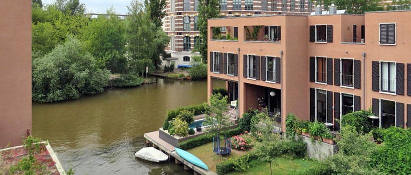 Leben und Wohnen am Wasser in Leipzig