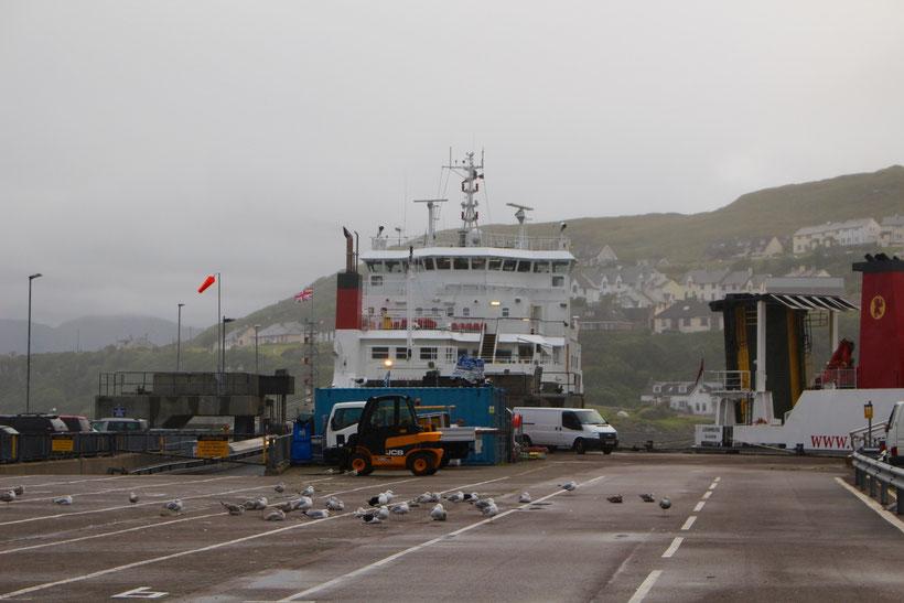 Fähre von Mallaig auf die Isle of Skye