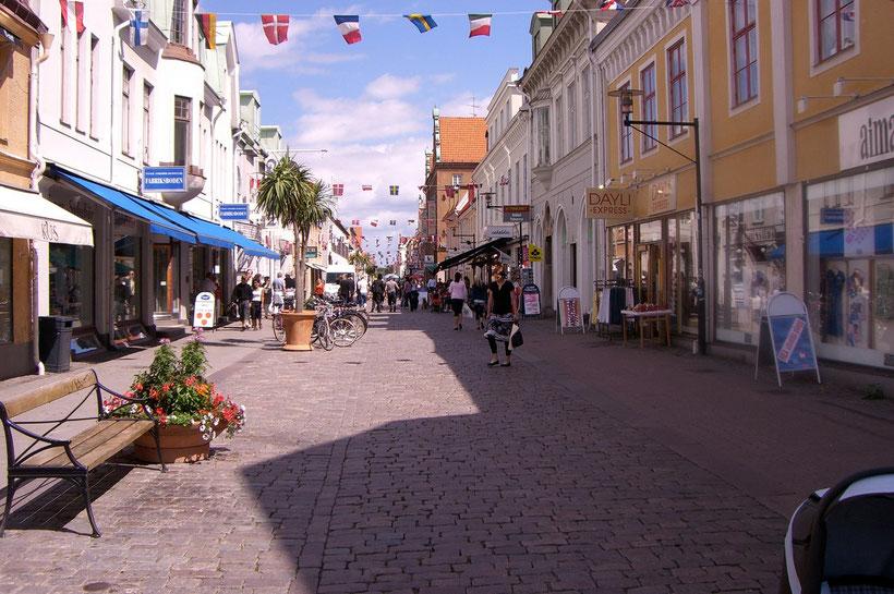 Die Innenstadt von Kalmar