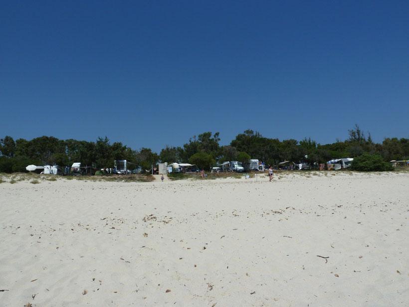 Campingplatz Capo Ferrato
