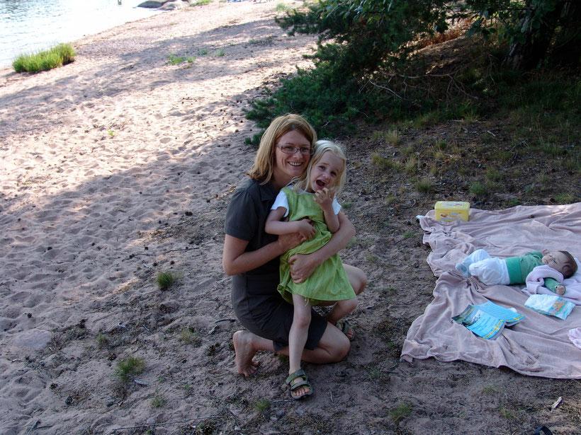 Picknick am Meer