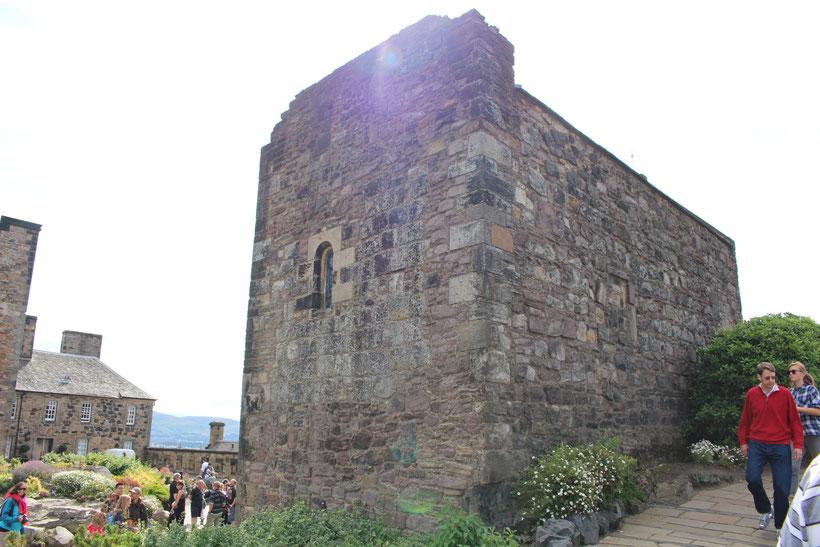 St. Margaret´s Chapel. Die Kapelle ist der älteste Teil der Anlage aus dem 12. Jh.