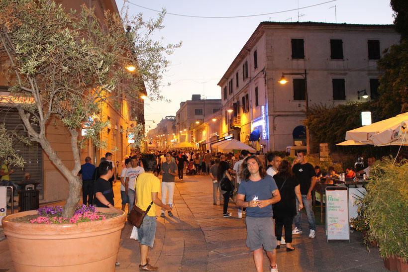 Abend in Olbia