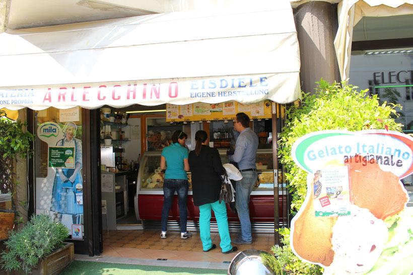 Eisdiele Arlecchino, Neumarkt