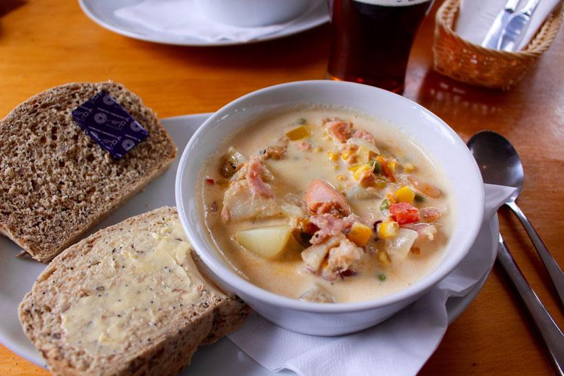"""Seafood-Chowder, """"Glenuig Inn"""", Glenuig"""