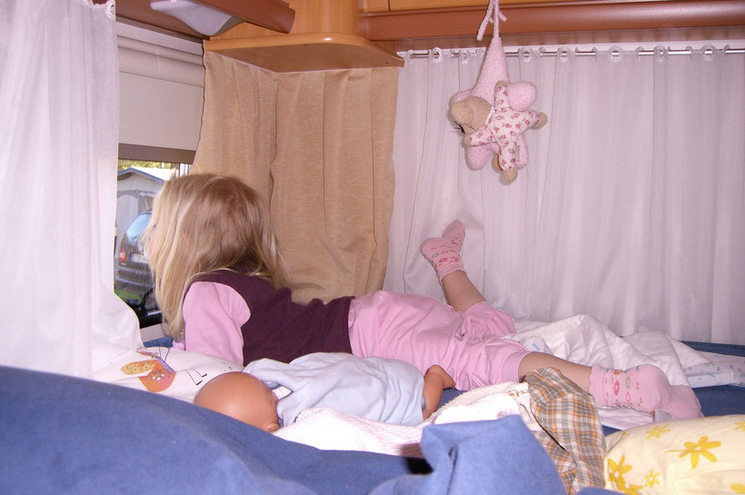 Blick aus dem Kinderzimmer