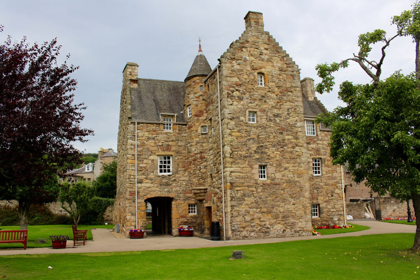 Queen Mary of Scots House. Sehenswertes um die Geschichte von Maria Stuart