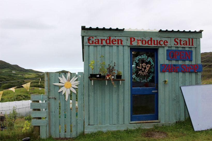 Der westlichste Biomarkt des britischen Festlandes. Was für ein Schlemmertag!