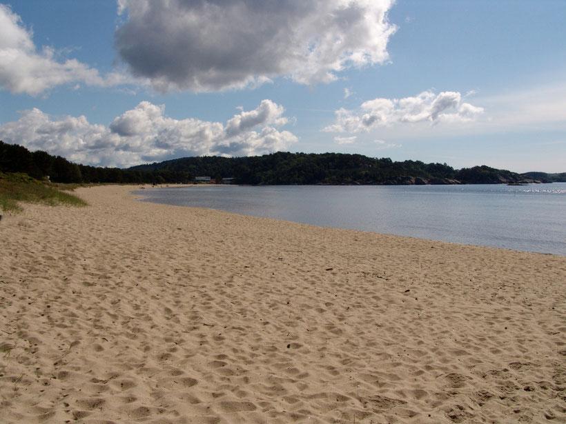 Strand bei Mandal