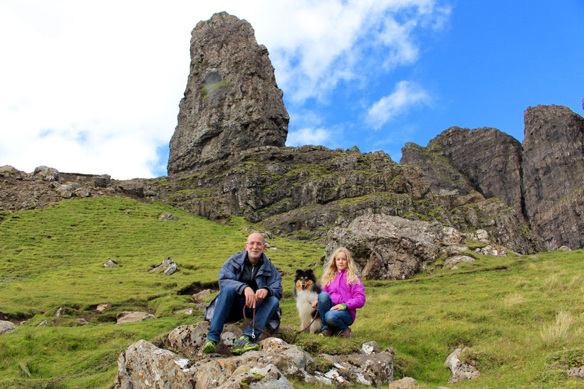 Angekommen! Der Old Man of Storr, Isle of Skye