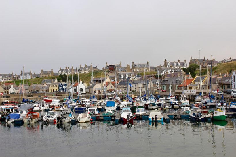 Hafen in Findochty