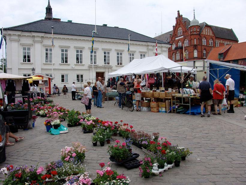 Markt in Ystad