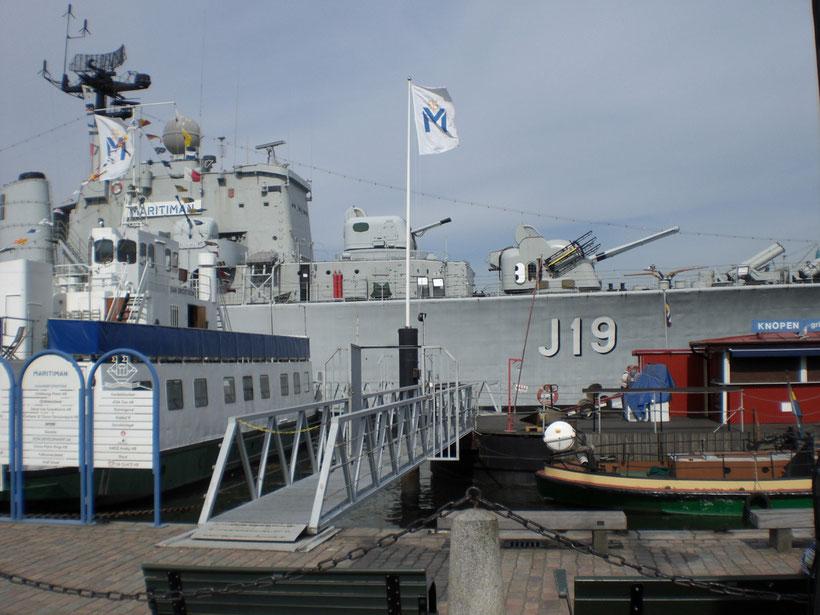 Marine Museum im Hafen von Göteborg