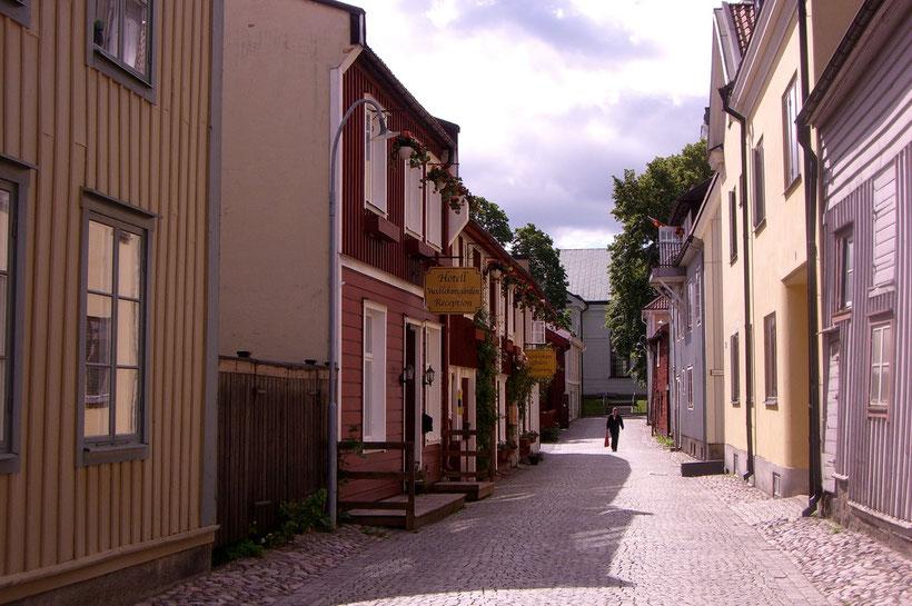 Die älteste Holzstadt in Schweden - Eskjö