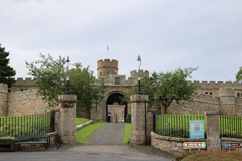 Das Castle Jail Museum in Jedburgh, Eintritt frei!