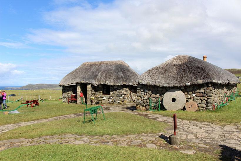 Kilmuir bei Uig. Skye Museum of Island Life