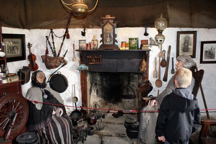 Crofter Haus. Skye Museum of Island Life, Kilmuir
