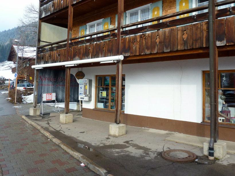 Der Dorfladen in Balderschwang