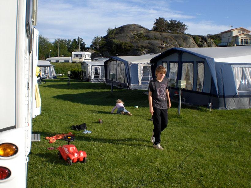 Malo Camping. Für eine Übernachtung vollkommen ok