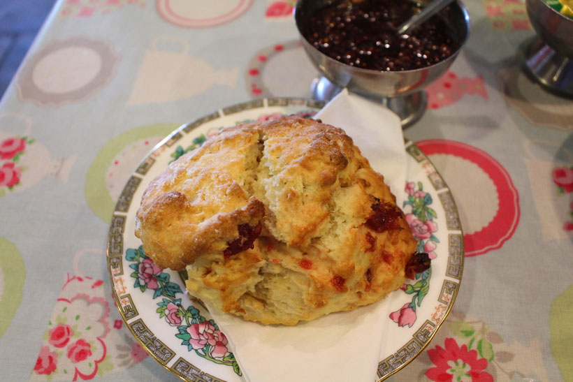Scones & Jam. Lecker!