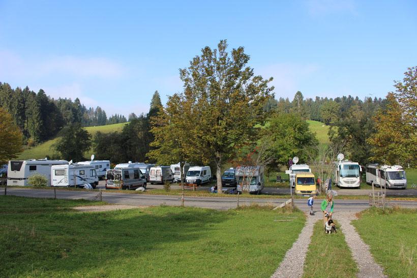 WoMo-Stellplatz Scheidegg am Kurhaus