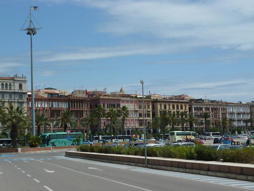 Hafenviertel in Cagliari