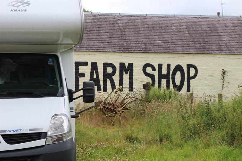 Stellplatz Carmichael Farm, Brit Stops