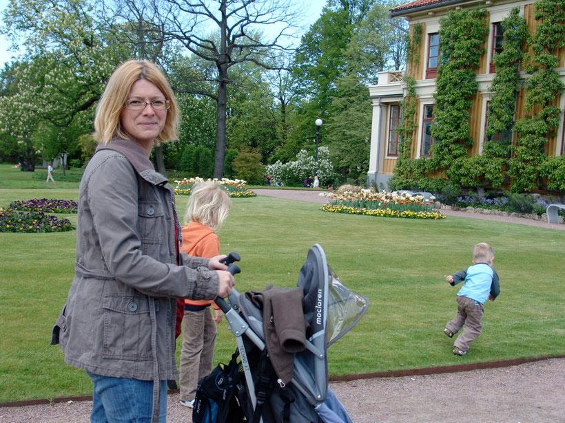 Spaziergang in Göteborg -Trädgardsföreningen
