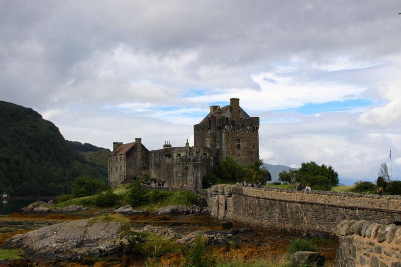 """Beeindruckende Kulisse für den """"Highlander"""": Castle Eilean Donan"""