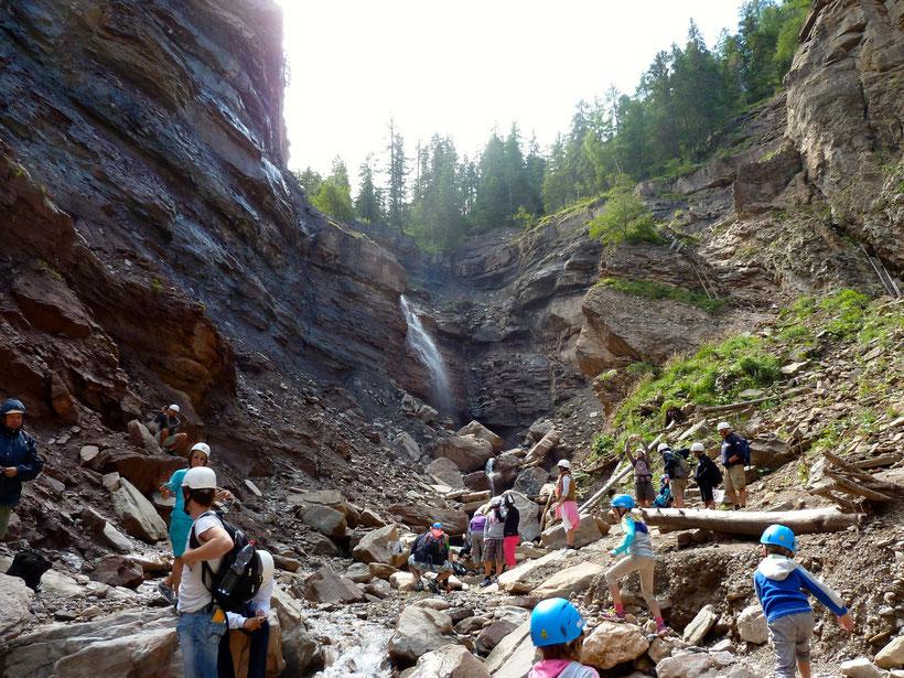 Nah am Ziel: Der Wasserfall Butterloch