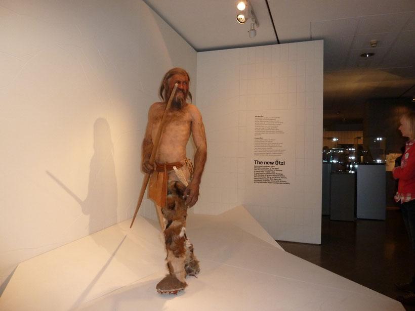 Ötzi. Archäologisches Museum Bozen