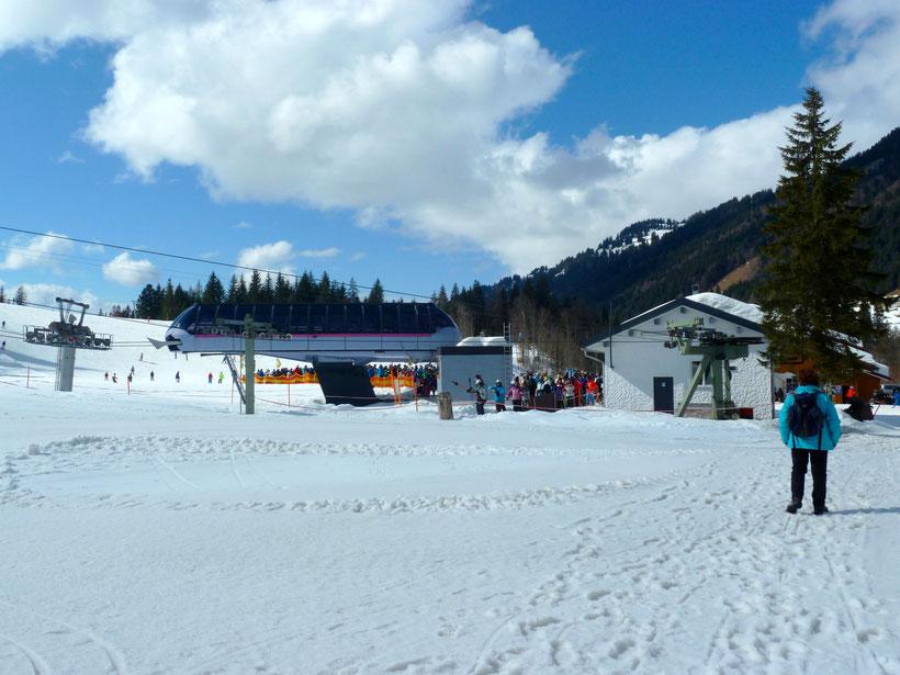 Lift an der Schelpen Alpe