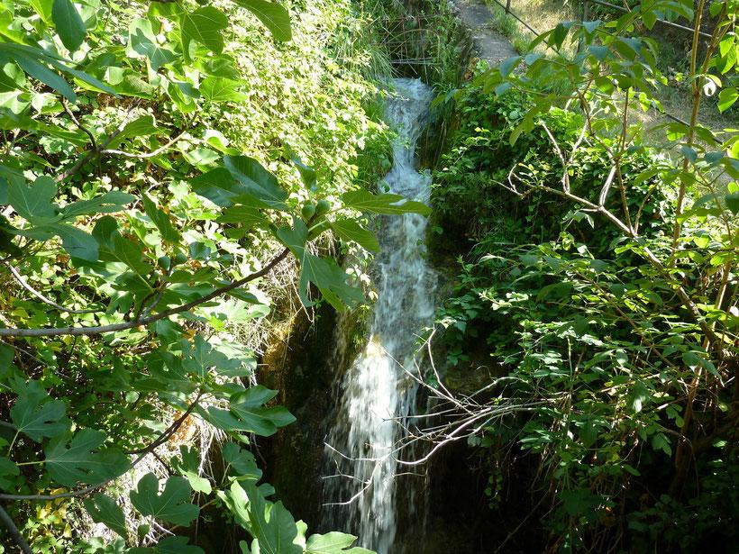 Wasserfall an der Millastiege