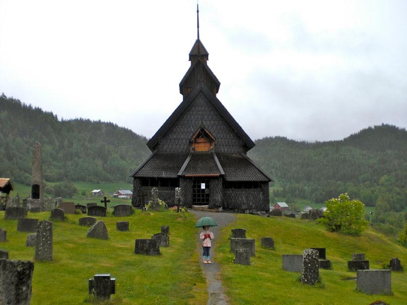 Stabkirche bei Oslo