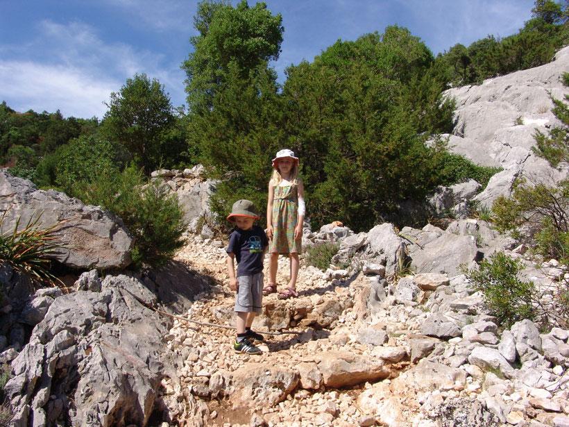 Wanderweg bei Su Porteddu zur Cala Goloritze