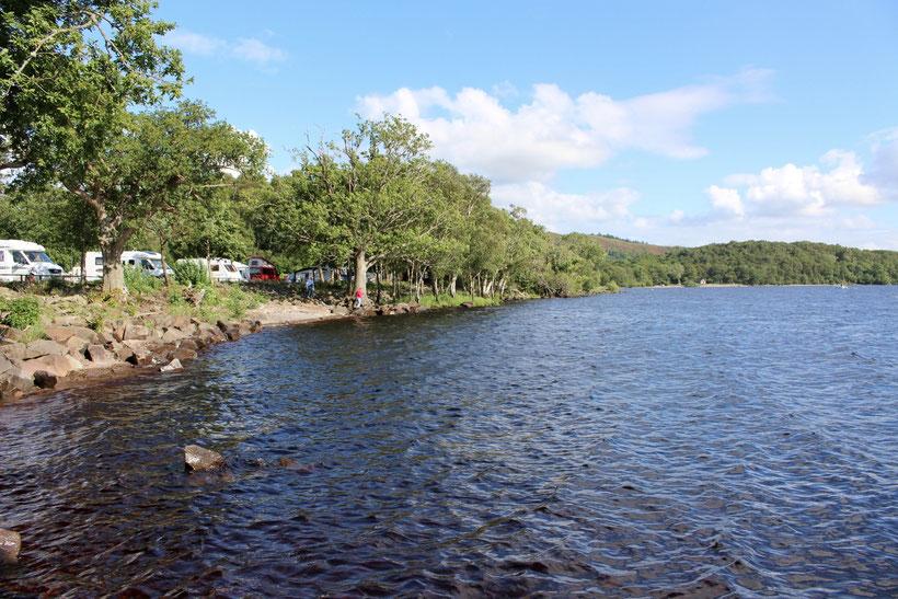 """Campingplatz """"Milarrochy Bay"""", Loch Lomond"""