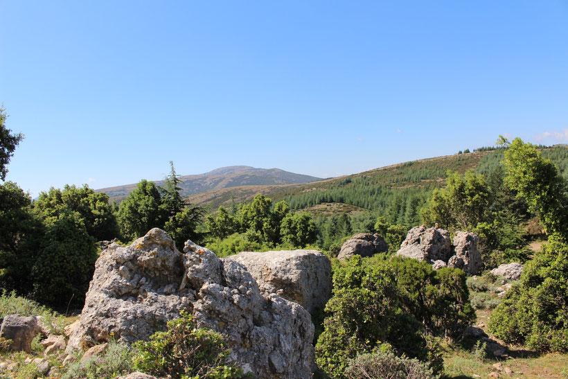 Landschaft im Supramonte