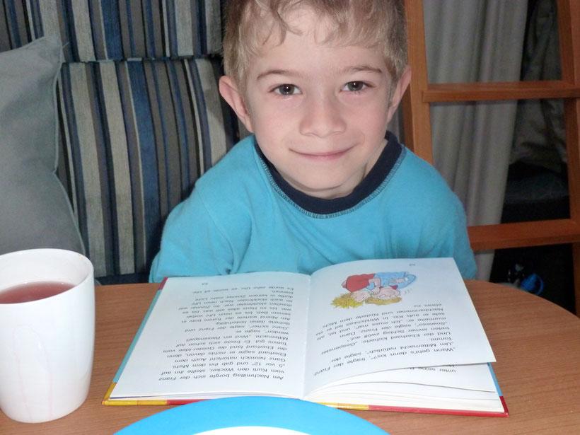 Frühstückslektüre. Der kleine Held und die Geschichten vom Franz