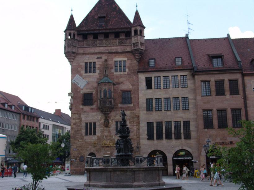 Ein schöner Rundgang durch Nürnberg