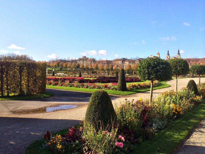 Südliche Gärten. Blühendes Barock, Schloss Ludwigsburg