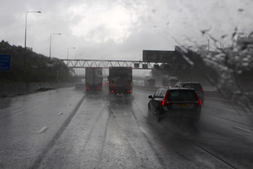 Britischer Rausschmeisser. Weiterfahren bis zum Eurotunnel in Folkestone fällt nicht schwer