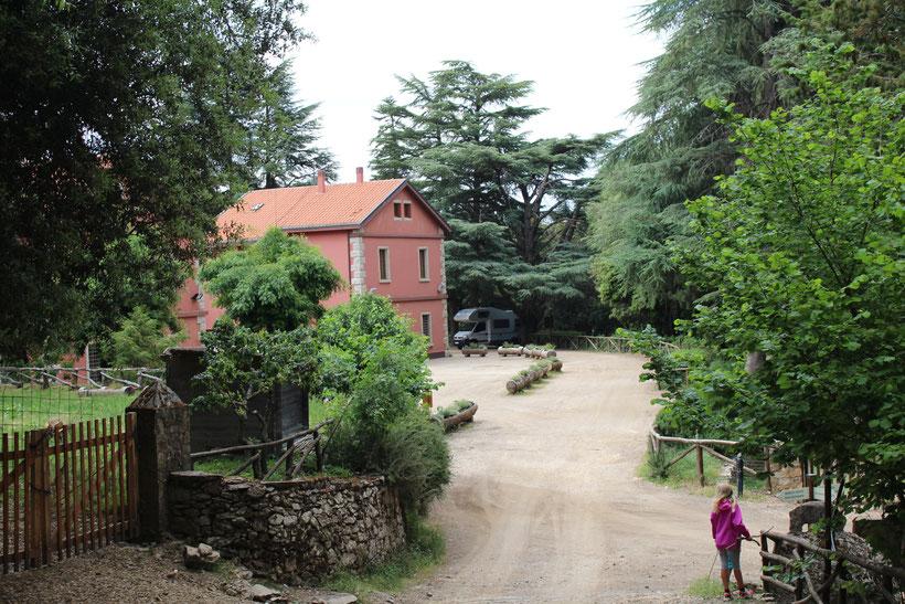 Forstamt und Stellplatz Foresta di Montes, Pratobello