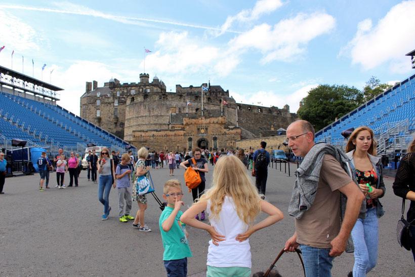 Edinburgh, Zugang zum Castle
