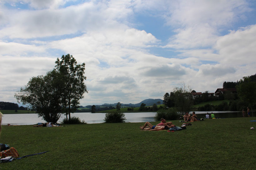 Baden am Illasbergsee