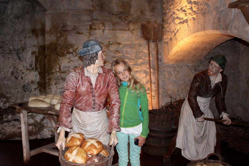 In einer der Küchen, Stirling Castle