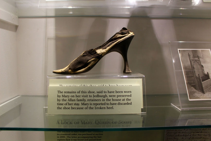 High Heels, getragen von Maria Stuart